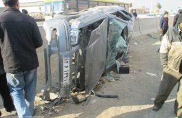 ۵ کشته و مجروح در حادثه برخورد سمند با کامیون