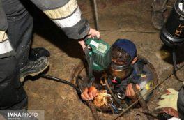 گاز فاضلاب ۵ فریدونشهری را روانه بیمارستان کرد