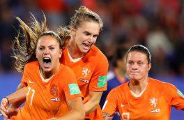 جام جهانی فوتبال زنان؛ حذف آخرین آسیایی از دور مسابقات/هلند صعود کرد
