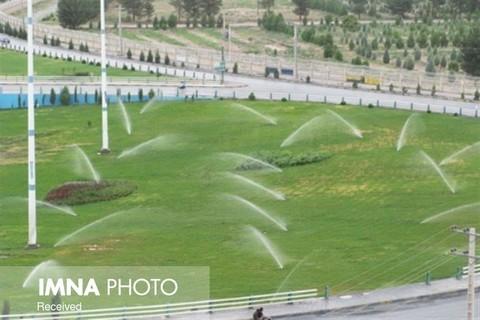 افزایش استفاده از پساب برای آبیاری فضای سبز
