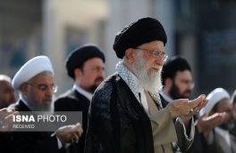 اقامه نماز عید سعید فطر تهران به امامت حضرت آیت الله خامنهای