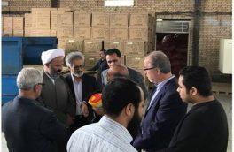 بازدید نماینده مردم مشهد و کلات در مجلس شورای اسلامی از شهرک صنعتی توس