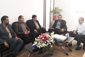 دیدار شهردارفولادشهر با رییس امور مالیاتی فولادشهر