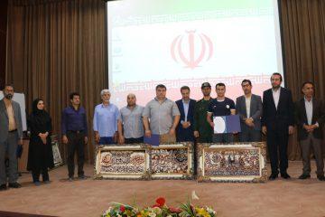 برگزاری مراسم تجلیل از قهرمان و افتخارآفرینان جهانی ورزش در فولادشهر