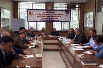 انعقاد تفاهمنامه بین شرکتهای توزیع برق استانهای اصفهان و لرستان