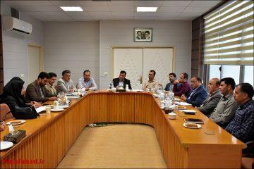 برگزاری جلسه انجمن کتابخانههای عمومی شهرستان نجف آباد