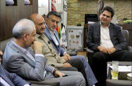 دیدار سرپرست شهرداری نجف آباد با رئیس شعبه تأمین اجتماعی شهرستان نجف آباد
