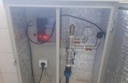نصب یک دستگاه پایش فشار شبکه توزیع آب