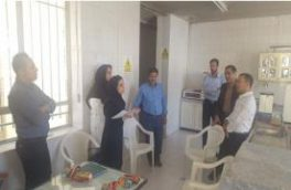 گروه ممیزی آزمایشگاههای شرکت مهندسی آب و فاضلاب کشور از آزمایشگاه میکروبیولوژی آب نجف آباد بازدید و ارزیابی کردند