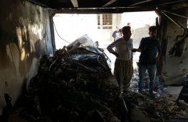 انفجار در کارگاه جوشکاری روستای اردیب خور یک کشته بر جا گذاشت