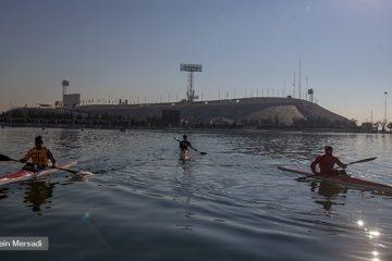 ملکی: به دنبال سهمیه المپیک در قایق ۴ نفره هستیم/ رکوردها بهتر شده است