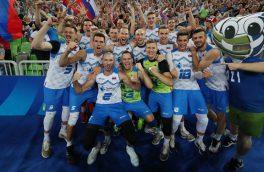 اسلوونی به لیگ ملتهای والیبال رسید