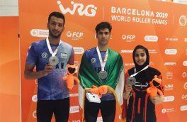 اصفهانیها جور اسکیت ایران در مسابقات جهانی را کشیدند
