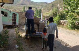 توزیع ۴۰دستگاه آبگرمکن خورشیدی در مناطق جنگلی (مرحله دوم سال ۹۸ ) پشتکوه فریدونشهر