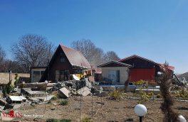 تخریب ۱۱۱ ویلای منطقه براآن شمالی اصفهان