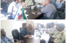 برگزاری جلسه پیشگیری و مقابله با سرقت تجهیزات مخابراتی