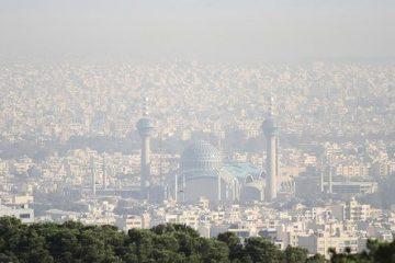 هوای اصفهان، غبارآلود میشود