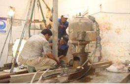 احیاء و لایروبی چاه های آب شرب موجود در منطقه تیران و کرون