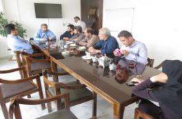 مدیر دفتر ایمنی ، بهداشت و محیط زیست آبفا استان در منطقه تیران و کرون حضور یافت
