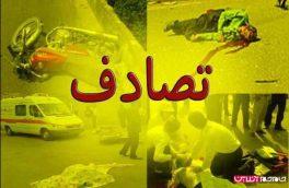 ۱۷ مجروح در واژگونی اتوبوس محور کازرون-شیراز