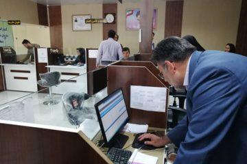 پایش چگونگی اجرای طرح خدمات الکترونیک توسط مدیر کل تأمین اجتماعی خراسان رضوی