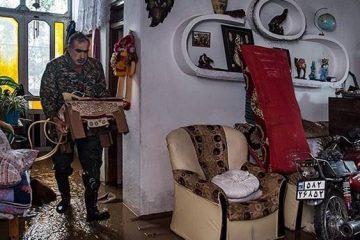 آغاز گندزدایی منازل مسکونی و اماکن عمومی مناطق سیلزده