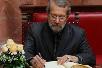 علی لاریجانی کفالت مردم نطنز، بادرود و قمصر را پذیرفت