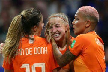 هلند برای اولین بار به فینال جام جهانی فوتبال زنان رسید