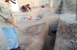 اجرای۴۰۵ متر توسعه لوله گذاری آب در چهار کوچه شهر نجف آباد