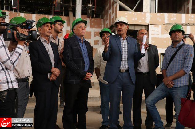بازدید خبرنگاران از پروژه مرکز همایشهای اصفهان