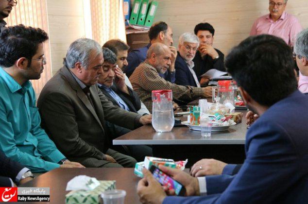 بازدید اعضای شورای شهر از پروژههای عمرانی شهرداری اصفهان