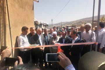 افتتاح پروژه ارتقاء اینترنت تلفن همراه در روستای نالوس سردشت