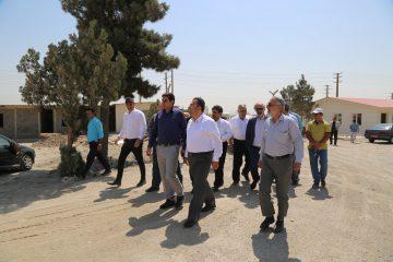 بازدید مهندس طاهرخانی از پروژههای اقدام ملی تولید و عرضه مسکن شهر جدید اندیشه