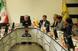 بازدید از زیر ساختهای فناوری اطلاعات و ارتباطات شرکت گاز استان اردبیل