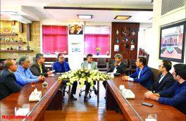 برگزاری جلسهای در حوزه گردشگری نجف آباد