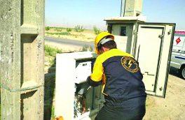 کلیه انشعابهای غیر مستقیم دیماندی برق شهرستان دهگلان هوشمند شد