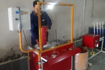 کارگاه شارژ کپسول آتش نشانی سنندج به دستگاه تست هیدرواستاتیک مجهز شد