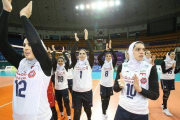 دختران والیبال ایران یک گام تا تعبیر رویا