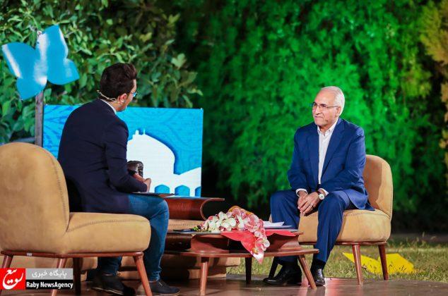 حضور شهردار اصفهان در برنامه تلویزیونی باغ پروانه ها