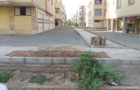 رفع حادثه لوله اصلی۹۰ پلی اتیلن مسکن مهر نایین