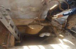 شست و شوی مخزن ۲۵۰مترمکعبی شهر انارک
