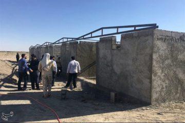۱۲ مدرسه و منزل مسکونی توسط لشکر ۱۴ امام حسین(ع) در جنوب شرق کشور احداث و بازسازی شد
