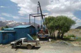 تعویض الکتروپمپ ایستگاه شماره ۲ چشمه لنگان