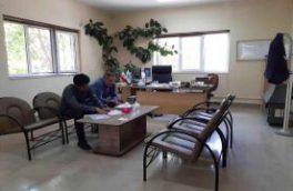 بازدید و ارزیابی فضای اداری آبفا منطقه فریدونشهر