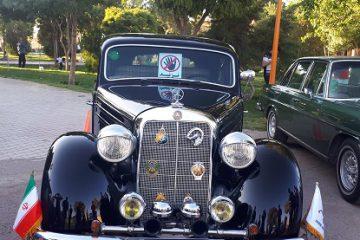 برپایی نخستین نمایشگاه خودروهای کلاسیک در شهر گز برخوار
