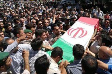 پیکر مطهر شهید عبدی در قروه تشییع شد