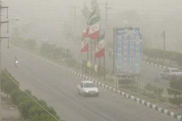 غبار محلی برای البرز پیش بینی شد