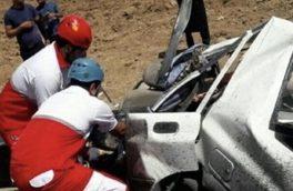بی توجهی راننده پراید، ۲ نفر را به کام مرگ کشاند
