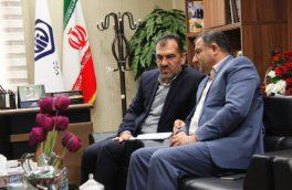 دیدار فرماندار آغاجاری با مدیر درمان تامین اجتماعی خوزستان