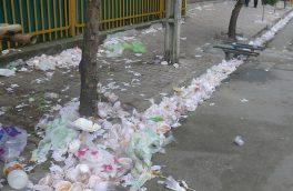 برای حفظ حرمت ماه محرم، زباله نریزیم